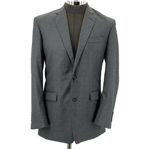 Brooks Brothers Suit Madison Saxxon 1818 Gray